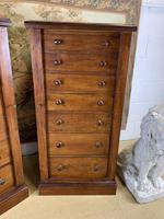 Pair of Mahogany Wellington Chests (3 of 7)