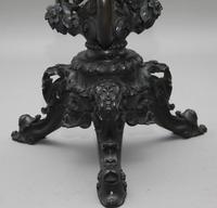 19th Century carved mahogany jardinere (2 of 10)