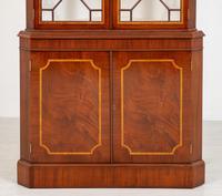 Mahogany Sheraton Revival Double Corner Cupboard (5 of 8)
