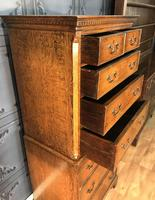 Georgian Style Oak Chest on Chest (4 of 12)