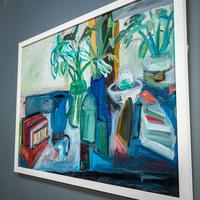 Large Still Life with Lillies – Oil on Canvas (2 of 8)