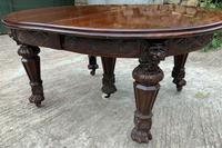 Impressive Victorian Mahogany Extending Dining Table - Seats 12 (13 of 23)