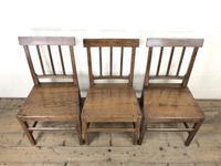 Set of Three 19th Century Farmhouse Chairs (2 of 9)