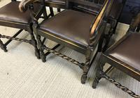 Set of Six Oak Dining Chairs (4 of 11)