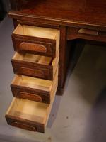 Good Oak Roll Top Desk by Maples London (11 of 12)