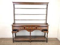 18th Century Welsh Oak Pot Board Dresser (3 of 10)