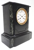Antique French Slate Mantel Clock Wow! Striking 8-day c.1890 (11 of 11)