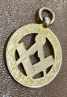 9ct Rose Gold Masonic Pendant (2 of 3)