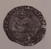 Silver Groat, Queen Mary,  Pomegranate