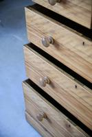 Victorian Satin Birch Chest of Drawers (5 of 12)