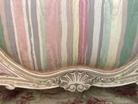 French Pair of Demi Lune Corbeille Single Bed Frames (4 of 11)