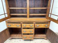 Antique 19th Century Glazed Oak Dresser (6 of 10)