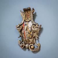 18th Century Painted Cartouche (3 of 9)