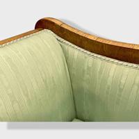Walnut Biedermeier Sleight Style Sofa (6 of 10)