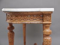 18th Century Pine and Marble Console Table (6 of 12)