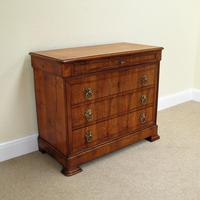 Cherry Wood Chest of Drawers c.1850 (2 of 8)