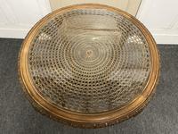 Round Walnut Coffee Table (3 of 9)