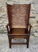 Antique Pine Ladies Orkney Chair
