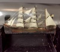 Antique Ship in a Bottle, Nautical (5 of 12)