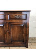 Antique Oak Dresser Base Sideboard (4 of 10)