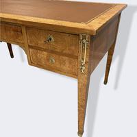 French Empire Burr Walnut Desk (9 of 10)