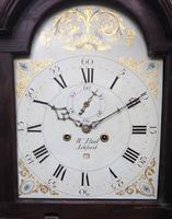 18th Century Longcase Clock Fine English Oak Ashford Grandfather Clock Painted Dial c.1757 (8 of 12)
