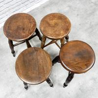 Group of 4 Tavern Stools (3 of 5)