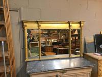 C19th Gilt Overmantel Mirror (5 of 14)