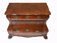 Dutch Bombe Commode Antique Chest of Drawers 1920 (3 of 13)