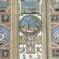 Set of Four Studies of Raphael Frescoes (3 of 6)