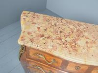 French Louis XV Style Marble Top Commode (5 of 13)