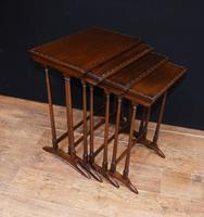 Regency Nest of Tables Antique Circa 1920 (2 of 8)