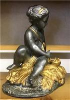 1900's Spelter Cherub Figure (5 of 6)