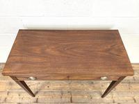 19th Century Mahogany Fold Over Tea Table (5 of 12)