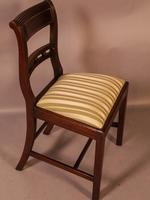 Good Set of 8 Regency Period Dining Chairs in Mahogany (6 of 13)