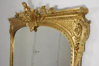 19th Century Gilt Overmantle Mirror (7 of 12)