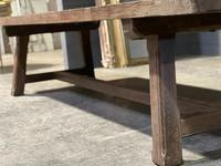 Huge Rustic French Oak Farmhouse Dining Table (12 of 35)