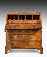 Mid 18th Century Walnut Bureau of Exceptional Colour & Patina (3 of 8)
