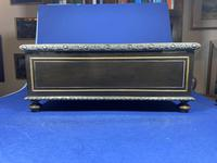 19th Century French  Ebonised Fruitwood Jewellery Box (2 of 18)