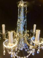 French Five Light Chandelier (3 of 4)