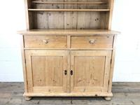 Antique Pine Country Dresser with Shaped (2 of 7)