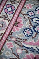 Pink Floral Eastern Wool Runner (11 of 12)