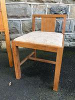Antique Heals Oak Dressing Table & Stool (2 of 12)