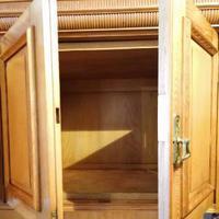Large Edwardian Pine Chinoiserie Style Dresser (10 of 16)