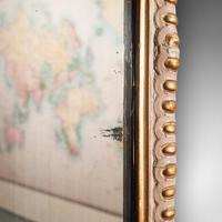 Antique Gesso Wall Mirror, Italian, Giltwood, Glass, Shield, Victorian c.1900 (7 of 10)