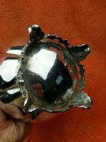 Antique Pumpkin Shaped Silver Plated Coffee Water Tea Pot c.1830 (7 of 13)