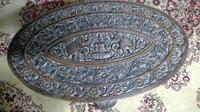 Antique Indian Carved Teak Elephant Table (5 of 6)