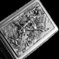 Rare Antique Georgian Solid Silver Mazeppa Snuff Box - Edward Smith 1836 (13 of 23)