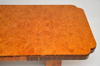 Art Deco Burr Walnut Dining Table & Cloud Back Chairs by Epstein (13 of 13)