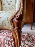 French Walnut Tub Chair (10 of 15)